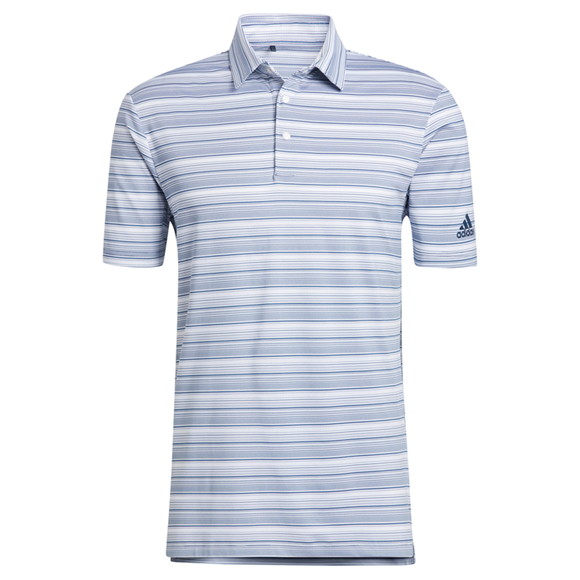 Picture of adidas Mens Heather Snap Polo Shirt - GM0230