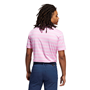 Picture of adidas Mens Heather Snap Polo Shirt - GM0233