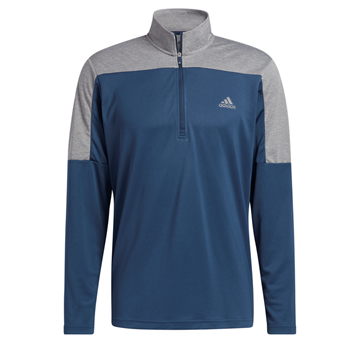 Picture of adidas Mens Sport 1/4 Zip UPF Lightweight Sweater - GR0757