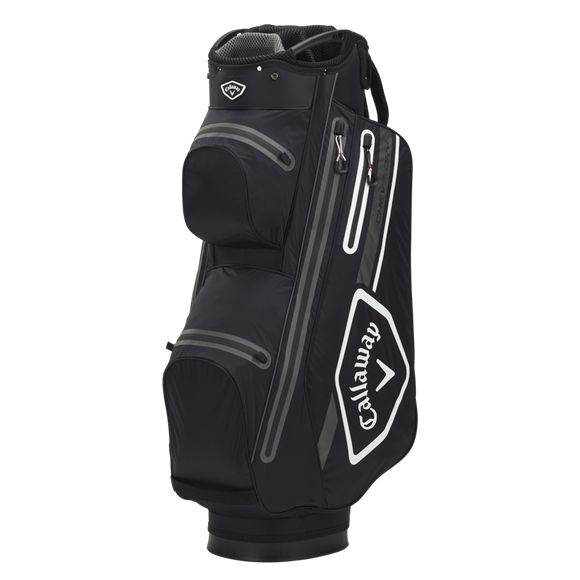 Picture of Callaway Chev 14 Dry Cart Bag - Black/White/Charcoal