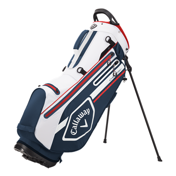 Picture of Callaway Chev Dry Waterproof Stand Bag - Navy/White/Red