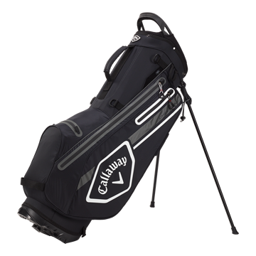 Picture of Callaway Chev Dry Waterproof Stand Bag - Black/Charcoal/White