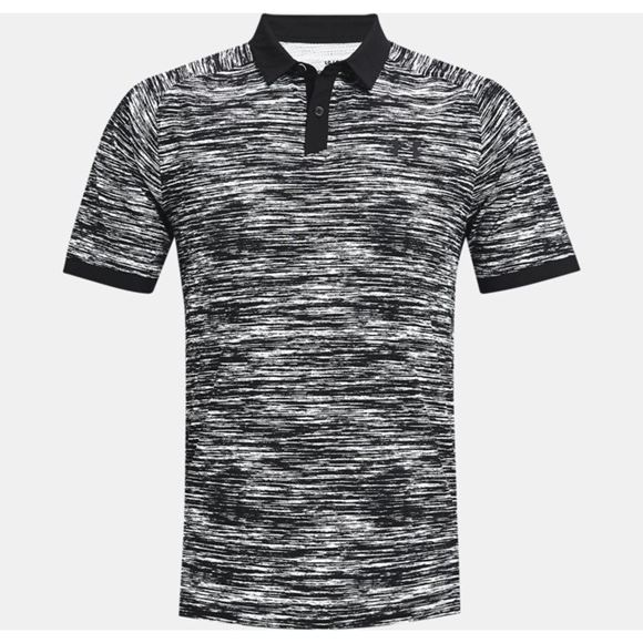 Picture of Under Armour Mens Iso-Chill ABE Twist Polo Shirt 1361805-100