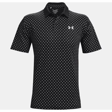 Picture of Under Armour Mens Performance Printed Polo Shirt 1361857-001