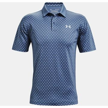 Picture of Under Armour Mens Performance Printed Polo Shirt 1361857-470