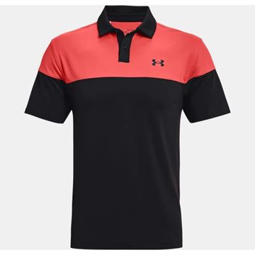 Picture of Under Armour Mens T2G Blocked Polo Shirt 1368121-002