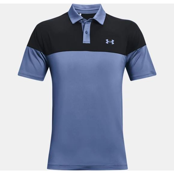 Picture of Under Armour Mens T2G Blocked Polo Shirt 1368121-470