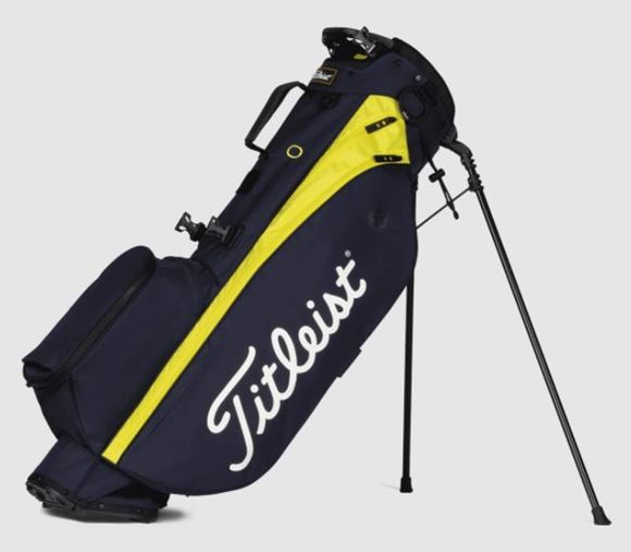 Picture of Titleist Players 4 Stand Bag - Navy/Citro 2021