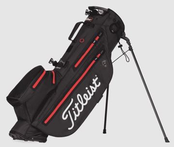 Picture of Titleist Players 4 StaDry Stand Bag - Black/Red