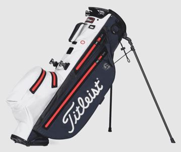 Picture of Titleist Players 4 StaDry Stand Bag - Navy/White/Red