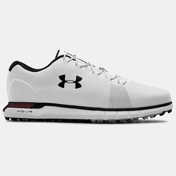 Picture of Under Armour Mens HOVR Fade SL E Golf Shoes - 3023842-100