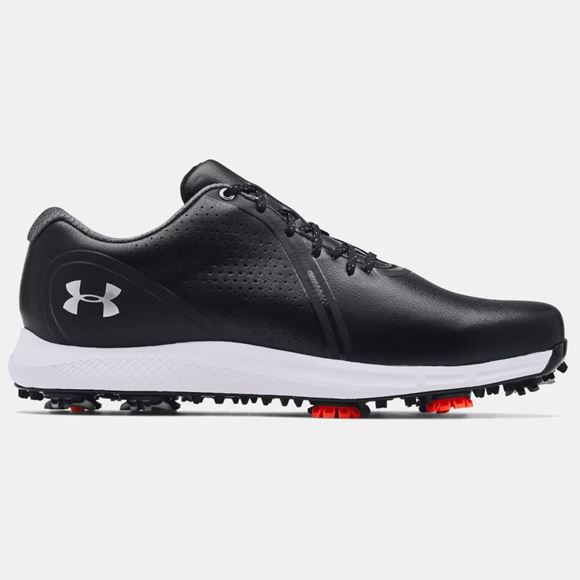 Picture of Under Armour Mens Charged Draw RST Wide E Golf Shoes 3024562-001