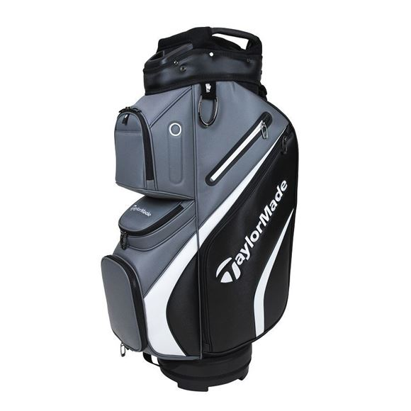 Picture of TaylorMade Deluxe Cart Bag - Grey/Black