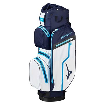 Picture of Mizuno BR-DRI Cart Bag - Navy/White