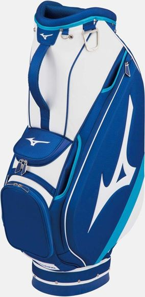Picture of Mizuno Tour Cart Bag - Blue/White
