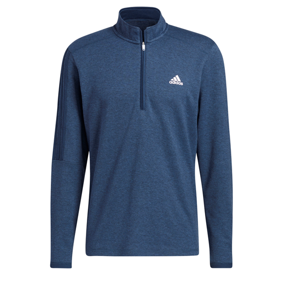 Picture of adidas Mens 3 Stripe 1/4 Sweater - GH7047