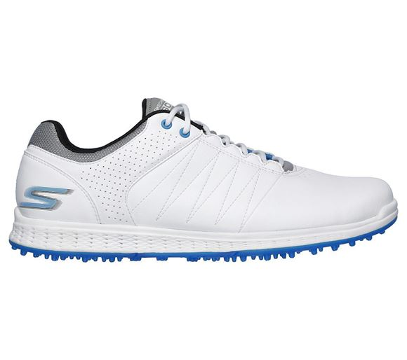 Picture of Skechers Mens Pivot Golf Shoes - White/Grey/Blue