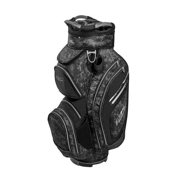 Picture of Powakaddy Premium Tech Cart Bag - Black/Grey