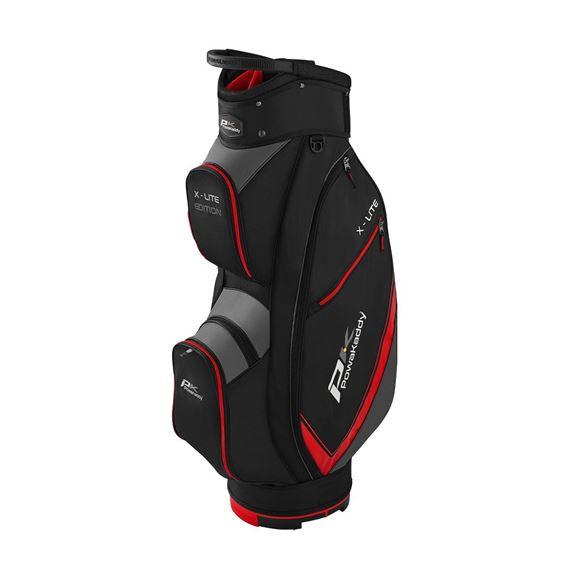 Picture of Powakaddy X-Lite Cart Bag - Black/Red