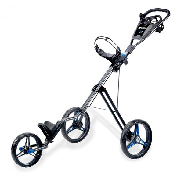 Picture of Motocaddy Z1 Push Trolley - Blue Frame