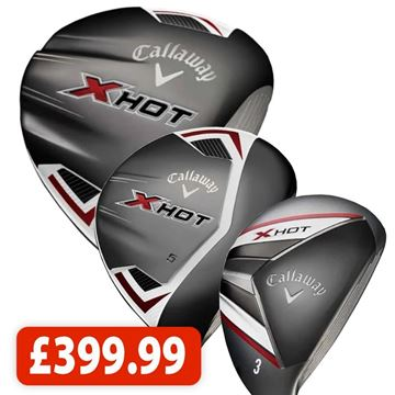 Picture of Callaway X Hot Driver, Fairway and Hybrid Bundle (3 Clubs) *NEXT DAY DELIVERY*