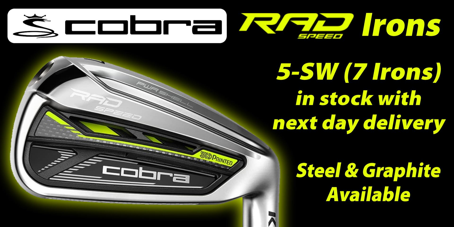Cobra RadSpeed Irons