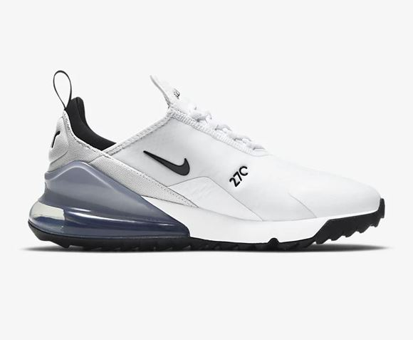 Picture of Nike Air Max 270 Golf Shoes - CK6483-102