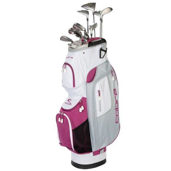 Picture of Cobra Fly-XL Womens Complete 10 Club Set with Cart Bag *NEXT DAY DELIVERY*