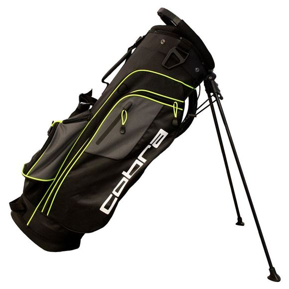 Picture of Cobra Lightweight XL Mens Stand Bag - Black-Yellow