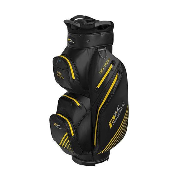 Picture of Powakaddy Dri Tech Waterproof Cart Bag - Black/Yellow