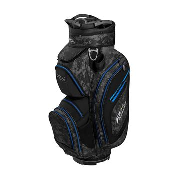 Picture of Powakaddy Premium Tech Cart Bag - Black/Grey/Blue