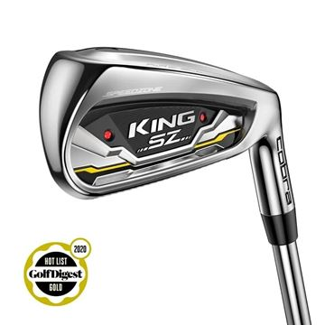 Picture of Cobra King SZ Speedzone Irons - Steel 5-SW *NEXT DAY DELIVERY*