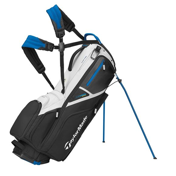 Picture of TaylorMade FlexTech Crossover 2021 Stand Bag - Black/White/Blue