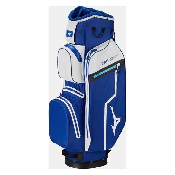 Picture of Mizuno BR-DRI Cart Bag - Blue/White