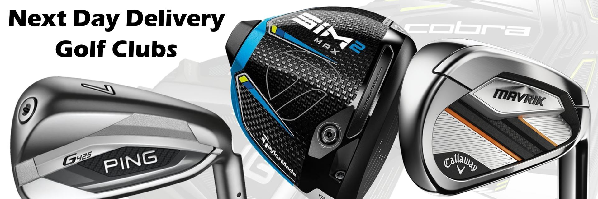 Next Day Delivery golf equipment