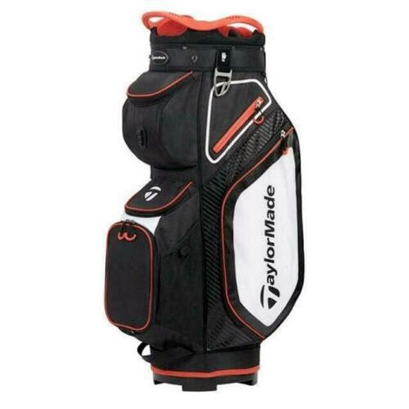 Picture of TaylorMade Pro Cart 8.0 Trolley Bag - Black/White/Red