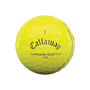 Picture of Callaway Chrome Soft X LS Triple Track Yellow Golf Balls 2021 Model