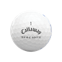 Picture of Callaway ERC Soft  Triple Track Golf Balls 2021 - White