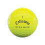Picture of Callaway ERC Soft  Triple Track Golf Balls 2021 - Yellow