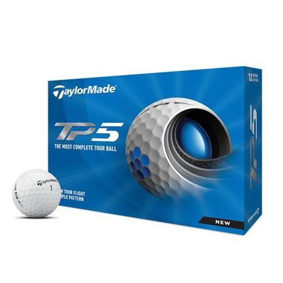 Picture of TaylorMade TP5 Golf Balls - 2021 Model