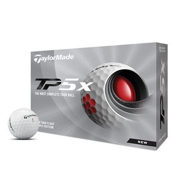 Picture of TaylorMade TP5X Golf Balls - 2021 Model