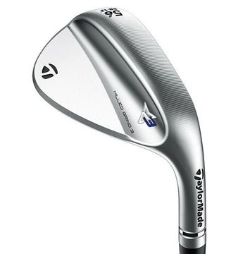 Picture of TaylorMade Milled Grind 3 Wedge - Chrome *NEXT DAY DELIVERY*