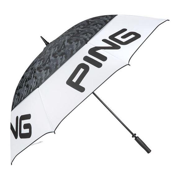 "Picture of Ping Tour 68"" Umbrella - White/Black"