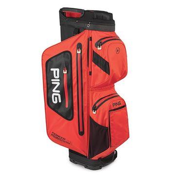 Picture of Ping Pioneer Monsoon Waterproof Cart Bag 2021 - Red/Black