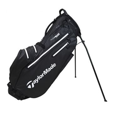 Picture of TaylorMade FlexTech 2021 Waterproof Stand Bag Black/White