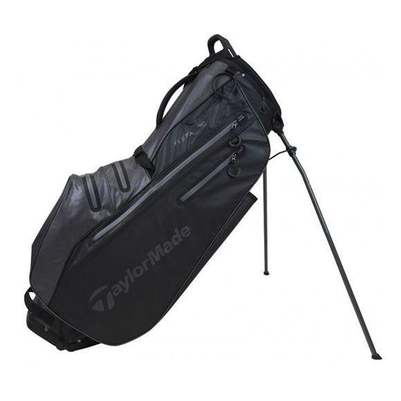Picture of TaylorMade FlexTech 2021 Waterproof Stand Bag Black/Charcoal