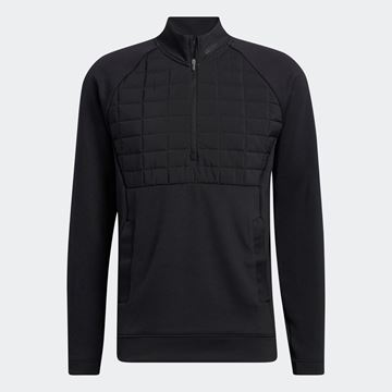 Picture of adidas Golf Frostguard 1/4 Zip Pullover - Black - H11043