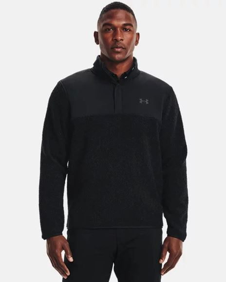 Picture of Under Armour Men's UA SweaterFleece Pile Pullover - 1366284-001