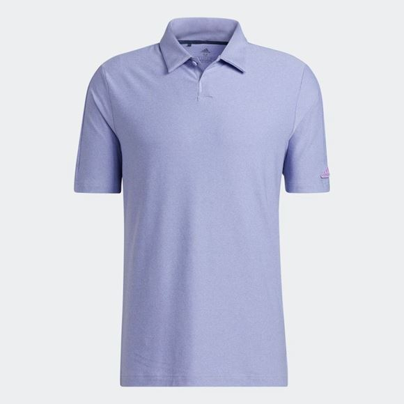Picture of adidas Mens Go-To Polo Shirt - Violet - GV3899