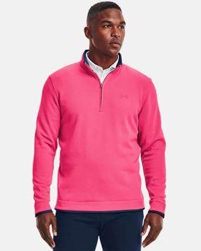 Picture of Under Armour Mens Storm Sweater Fleece 1/4 Zip Pullover 1359971-692